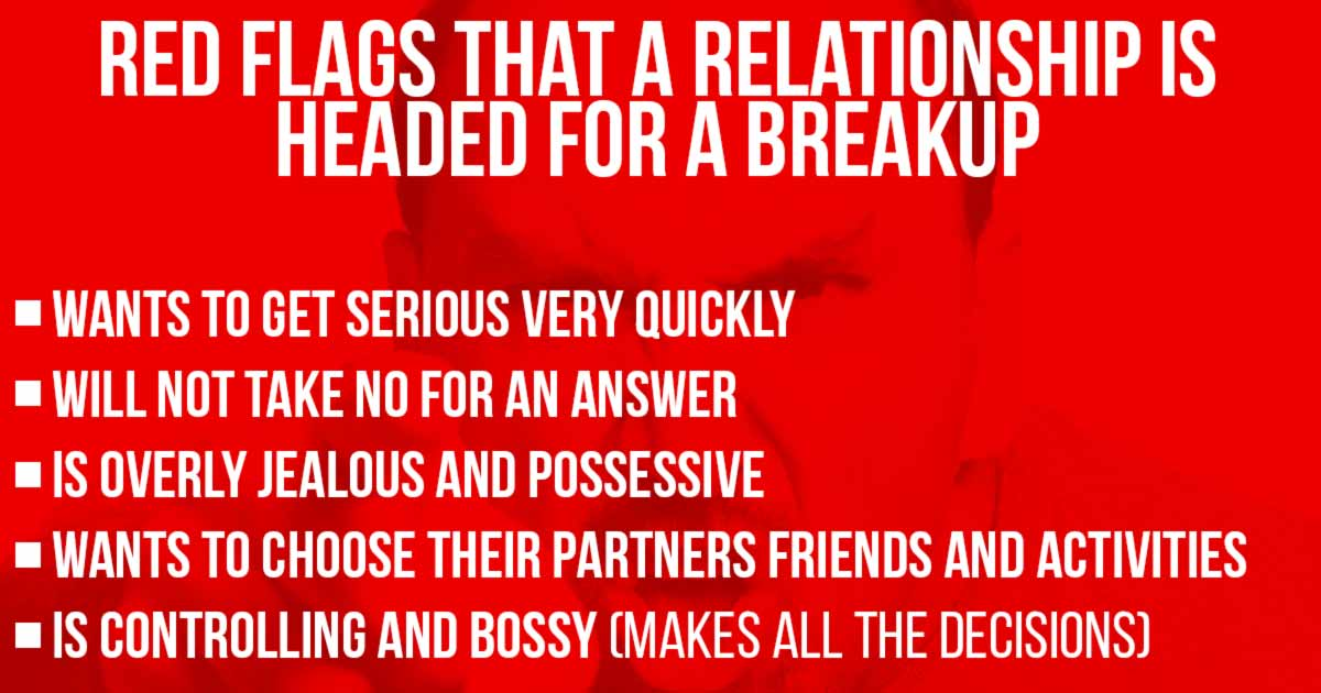 10 Red Flags That a Relationship Is Headed for a Breakup