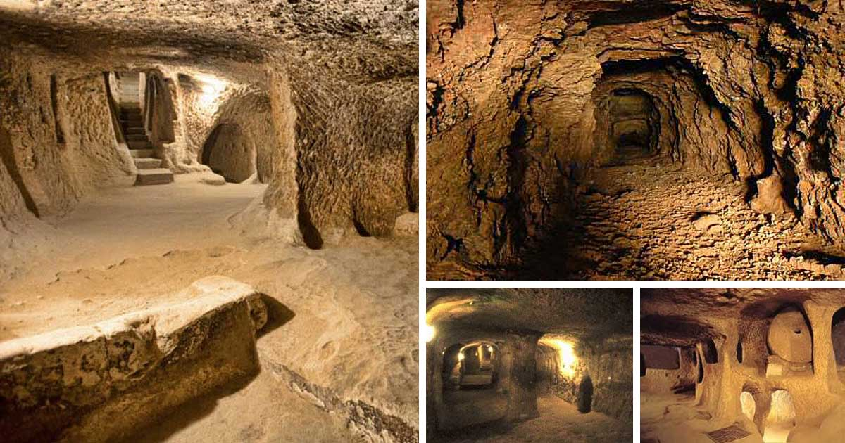 12,000-Year-Old Huge Underground Tunnels Extend from Scotland to Turkey (More than 2,700 miles)