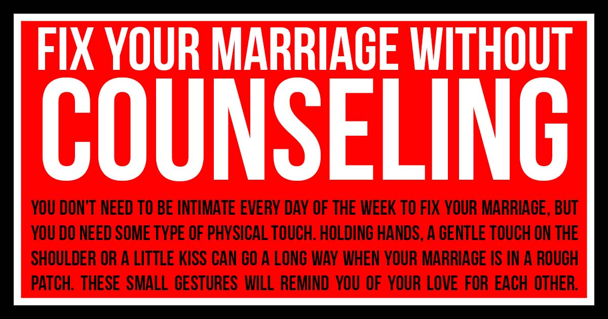 16 Small Things To Fix & Save a Broken Marriage Before It's Too Late