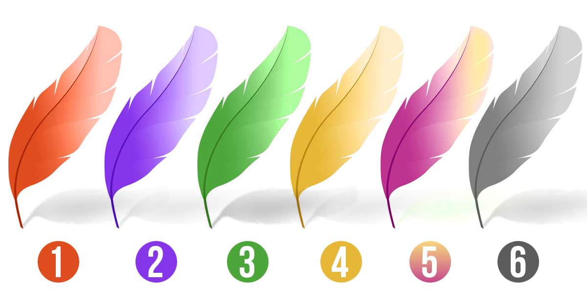 Choosing One Feather Reveals Your Personality