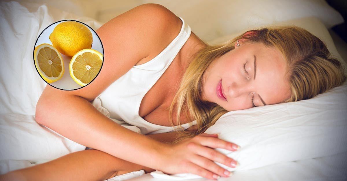 Why It's Good to Put A Lemon Next to The Bed at Night