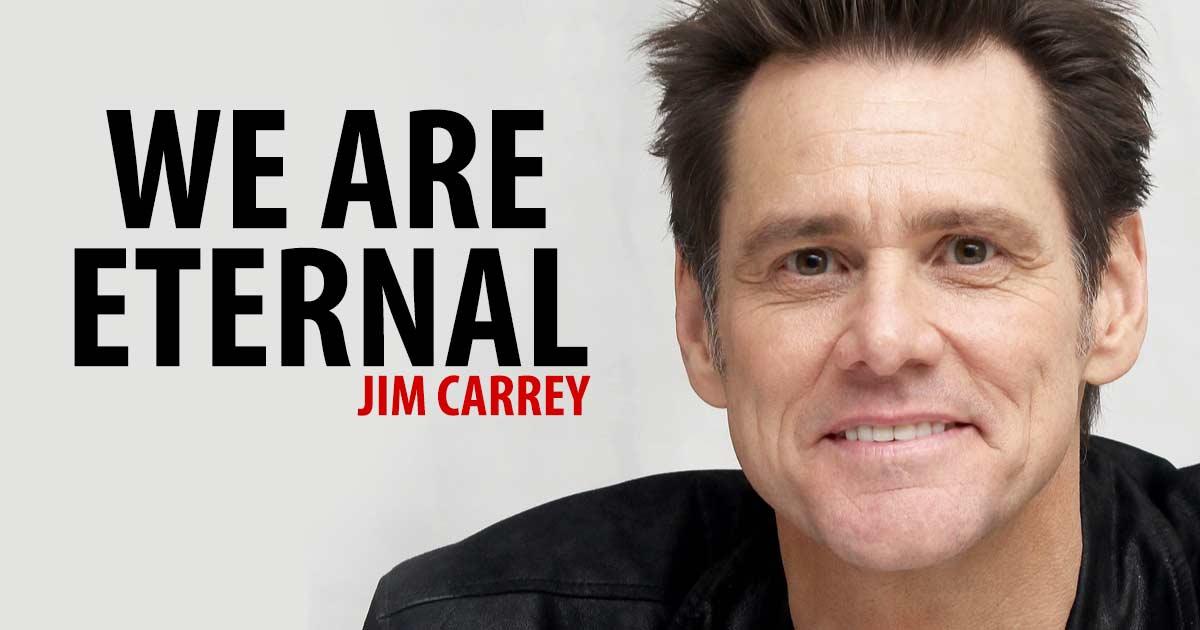 Jim Carrey Shares A Truly Inspiring Speech Each of Us Should Read