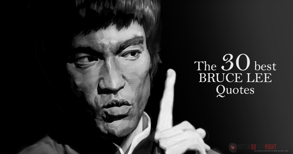 Top 30 Bruce Lee Inspirational Quotes