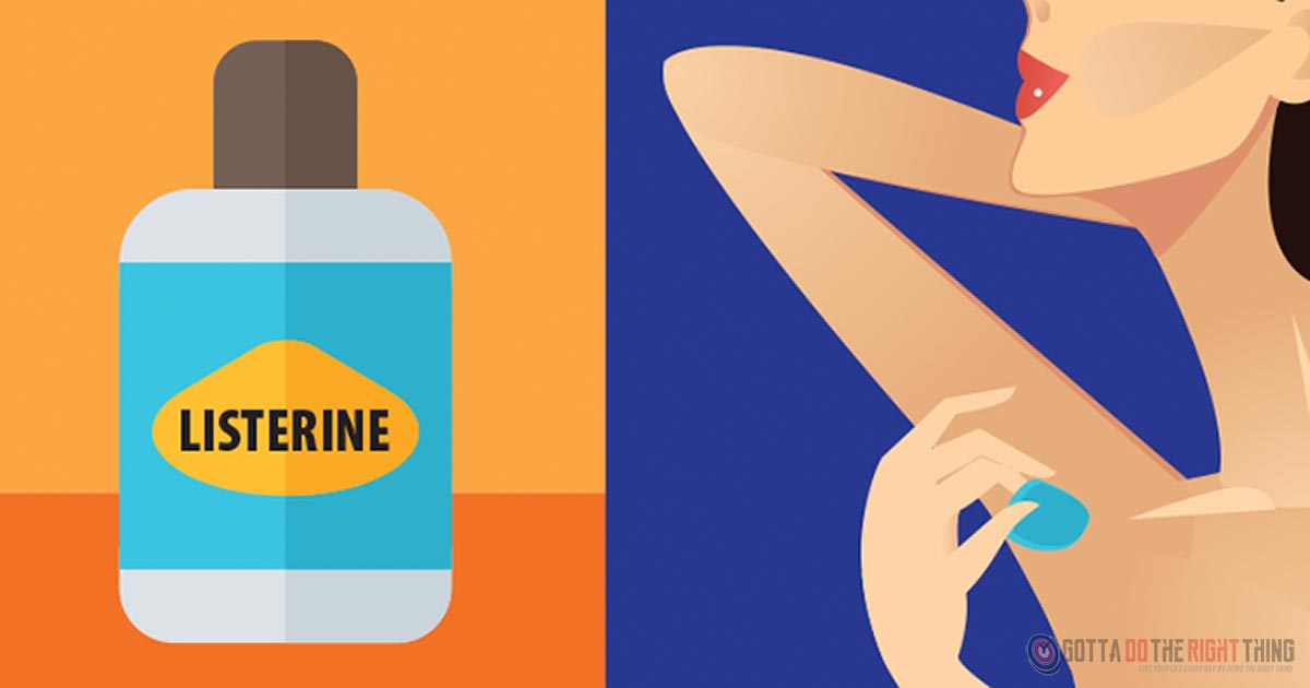 10 Other Uses Of Listerine, #3 Is Really Helpful!