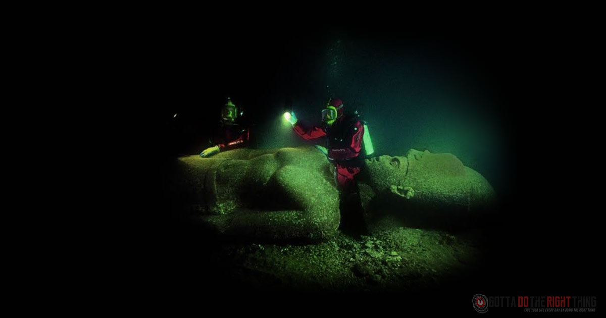 Groundbreaking Discovery On The Bottom Of The Mediterranean Sea In Egypt