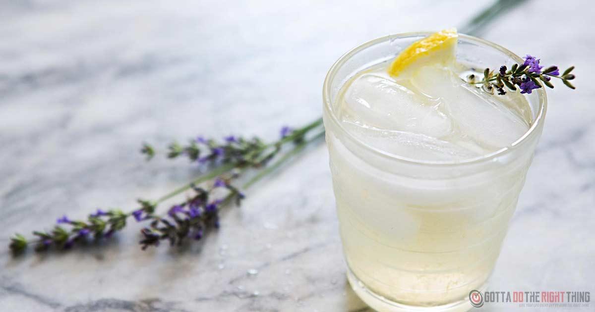 Drinking Lavender Lemonade Helps Ease Headache & Anxiety