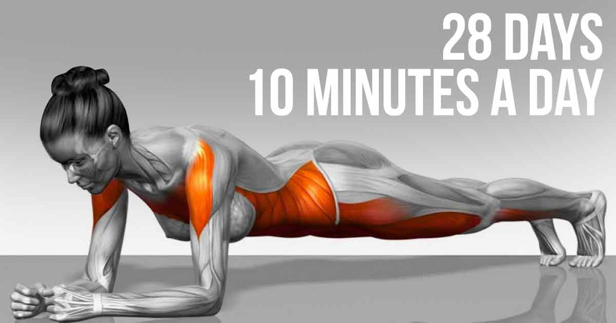 Reshape Your Body In Less Than A Month With These 5 Simple Exercises