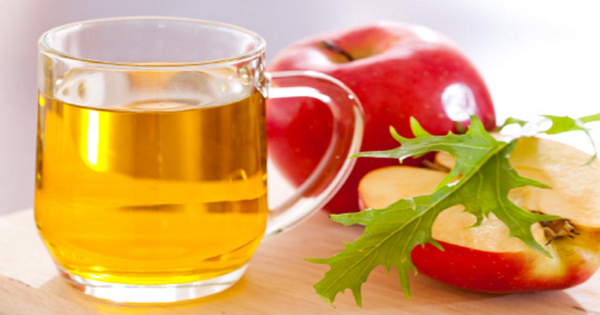 Homemade Apple Cider Vinegar Remedy For Sinus Infection