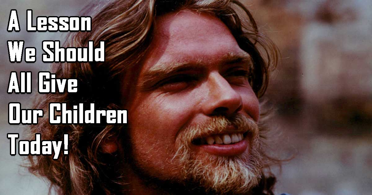 Inspirational Letter of Richard Branson to the 25-Year Old Version of Himself