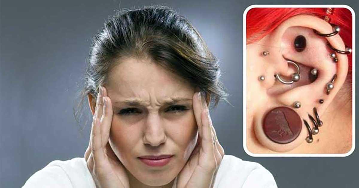 Piercings As A Treatment For Migraine Symptoms!