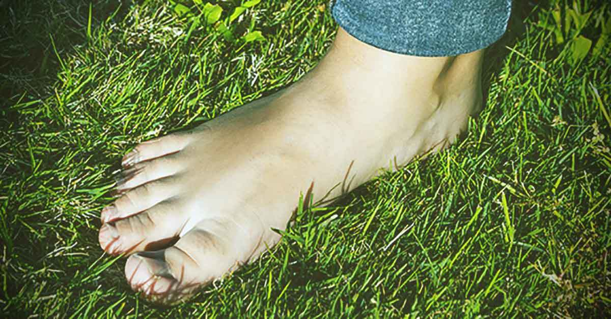 What Happens To The Human Body When We Walk Barefoot On Earth