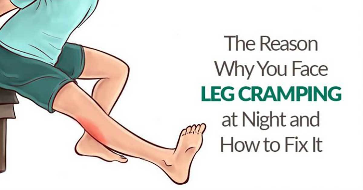 6 Tips to Treat Night Legs Cramps