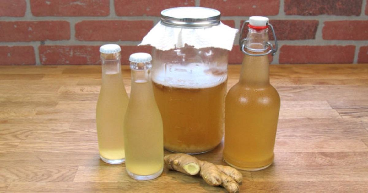 Burn Fat From The Thighs, Waist, And Back With This Healthy Ginger Water