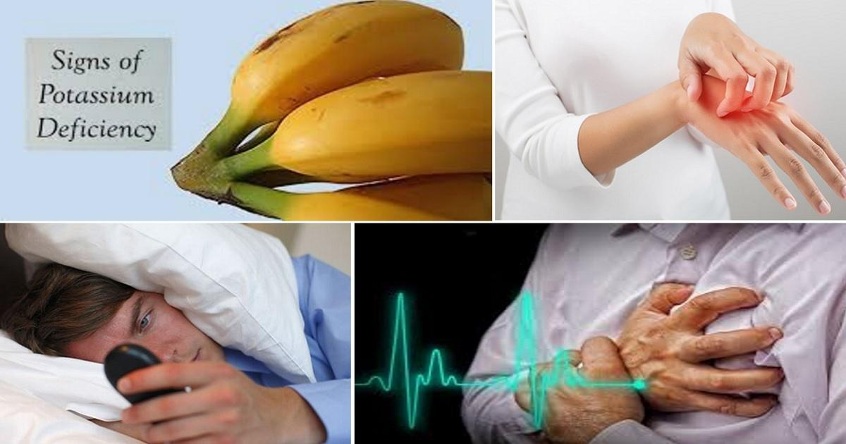 Do NOT Ignore These 6 Symptoms Indicating On Low Potassium Levels In Your Body
