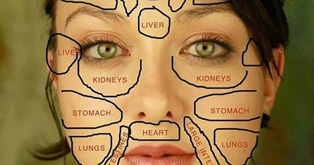 Face Mapping What Your Skin Says About Your Health