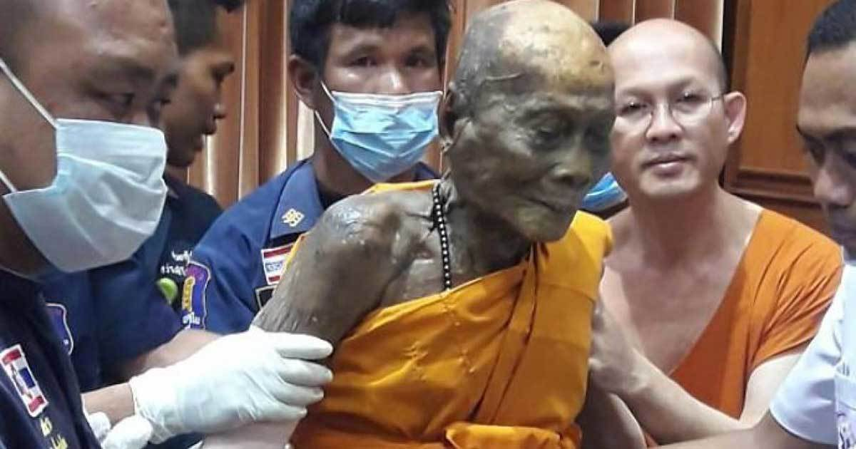 The Monk That Still Smiles Even Two Months After His Death