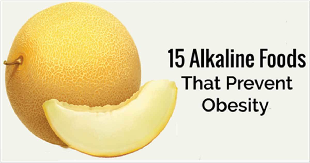 15 Alkaline Foods to Prevent Gaining Weight