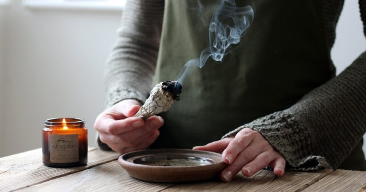 Science Says You Should Smudge Your Home, Here's Why