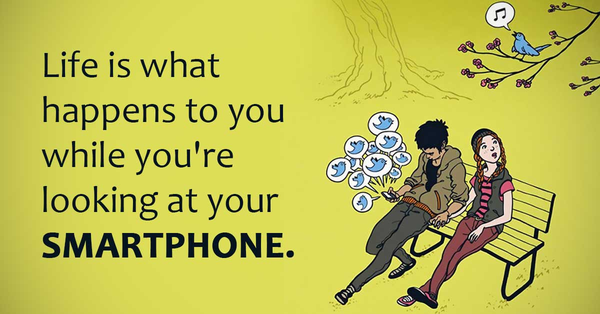 This Is Why People Won't Stop Staring at Their Phones