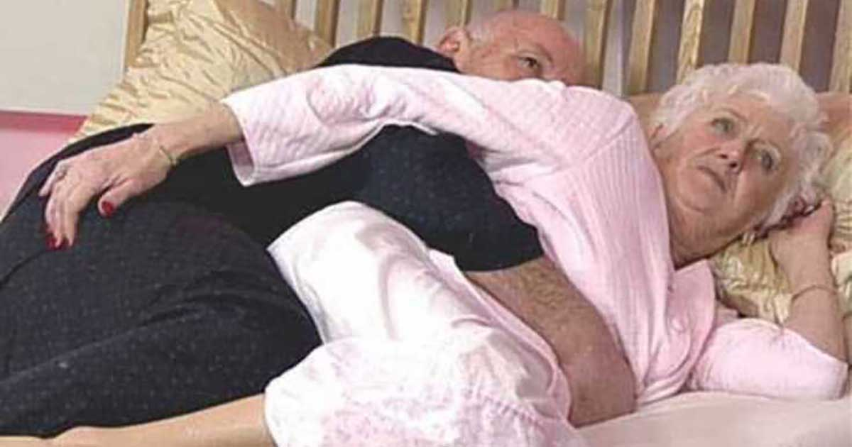 After Nearly 50 Years of Marriage, a Couple Was Lying in Bed One Evening, When the Wife Felt Her Husband Begin to Massage Her….