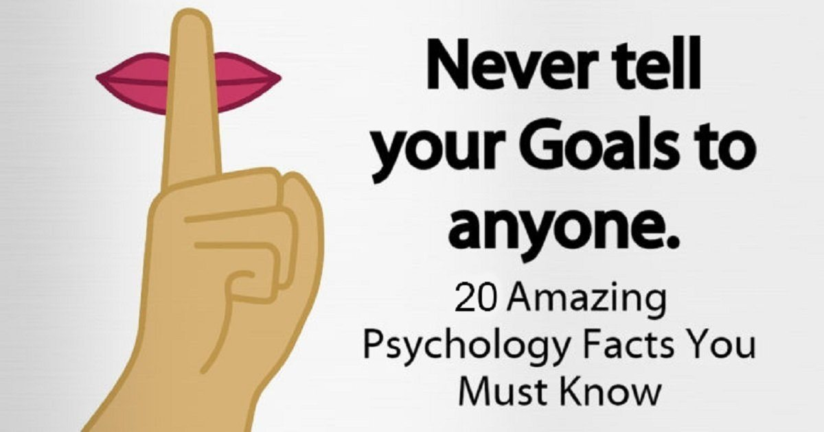 20 Amazing Psychology Facts Everyone Needs To Know