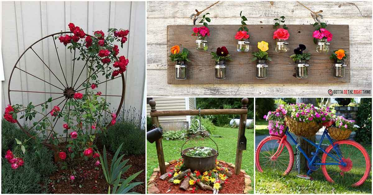Breathtaking Garden Planter Ideas to Make the Best of Your Outdoor Space