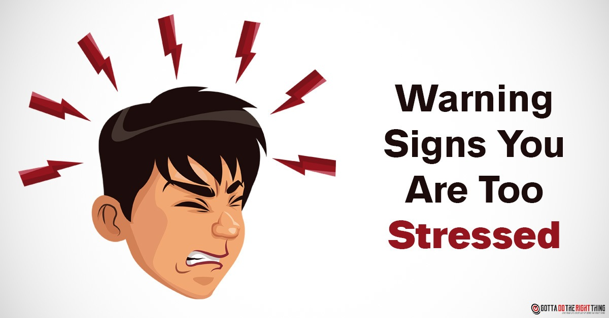 Listen to Your Body Signs You Are Way Too Stressed!