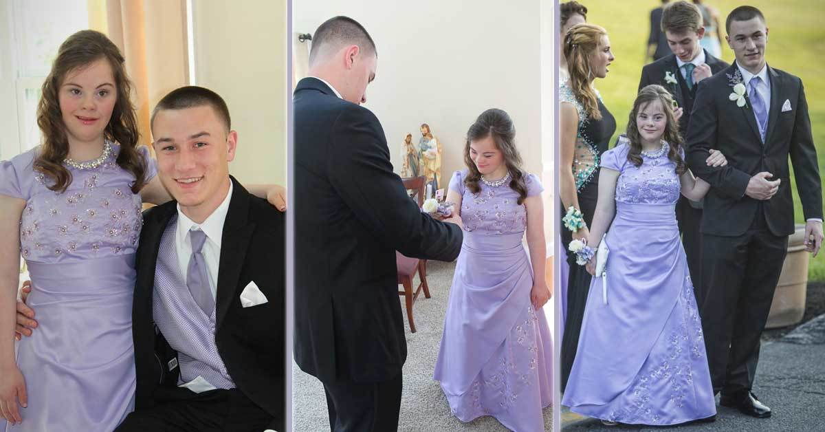 Quarterback Fulfills His Promise and Takes the Girl with down Syndrome to Prom
