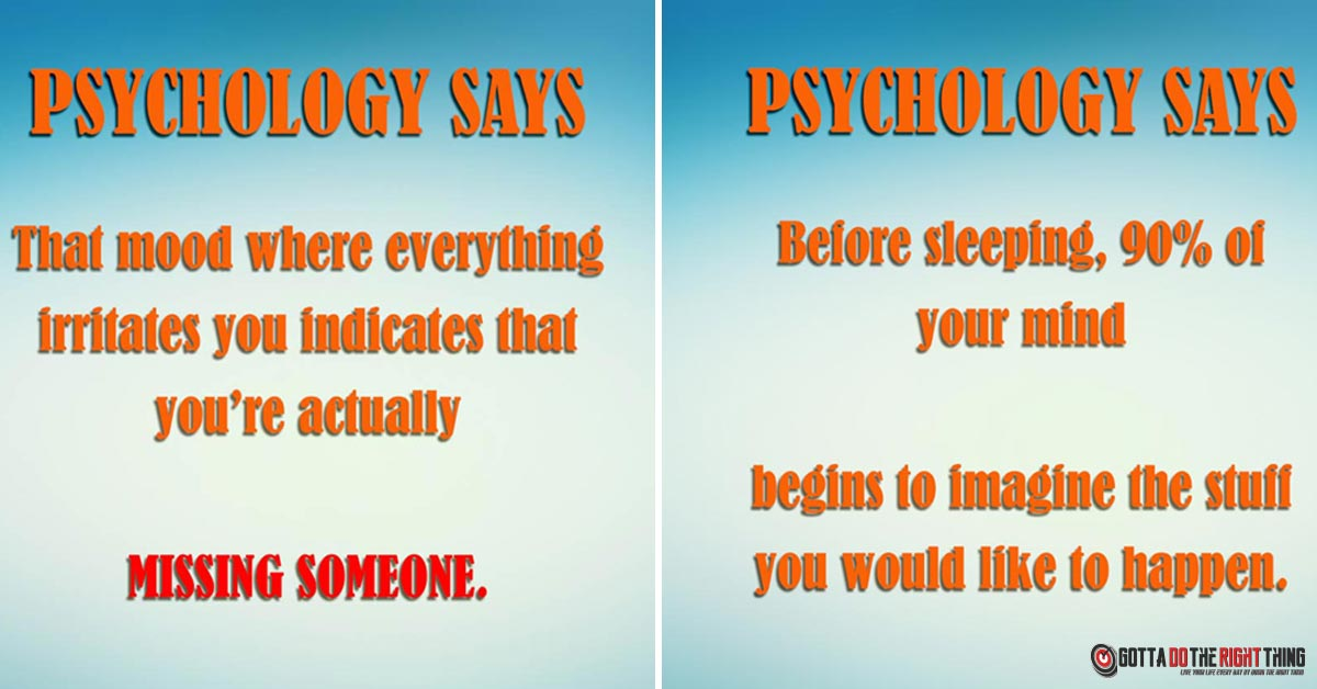 15 Mind-Blowing Psychology Facts That Won't Leave You Indifferent