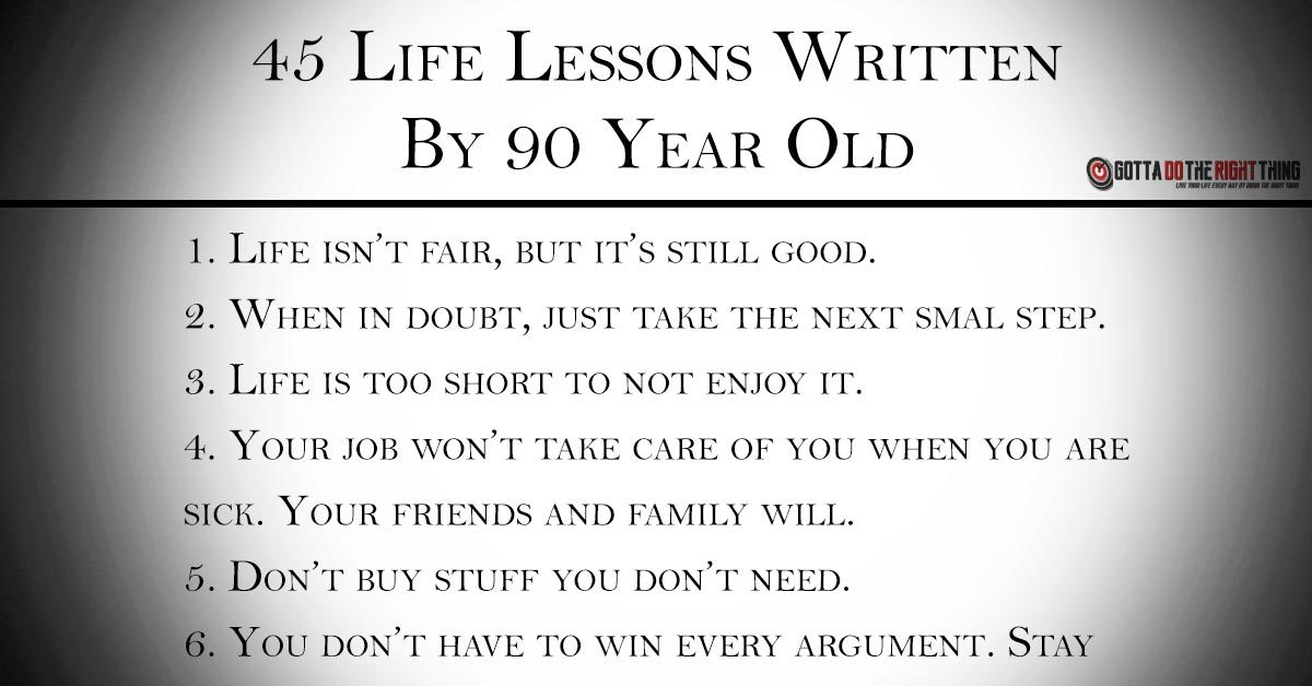45 Inspiring Life Lessons Everyone Should Know