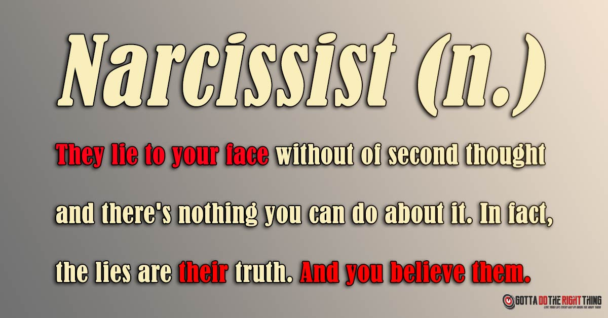 A Story That Will Help You Recognize the Narcissist in Your Life