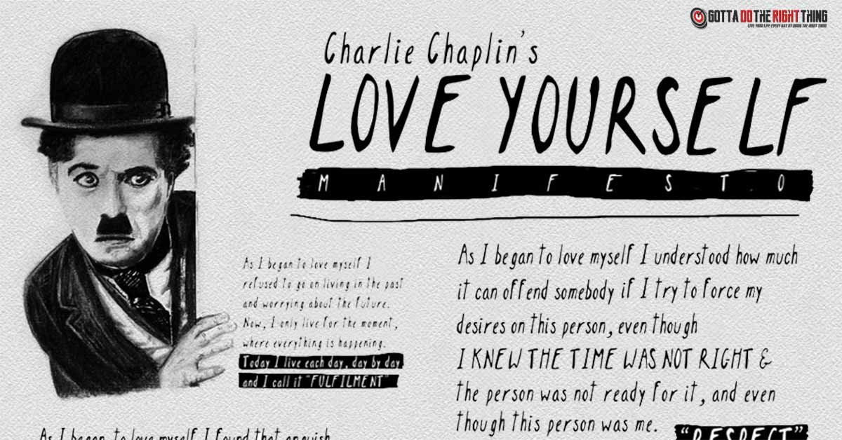 The Little-Known Poem by Charlie Chaplin on Self-Love Everyone Should Know