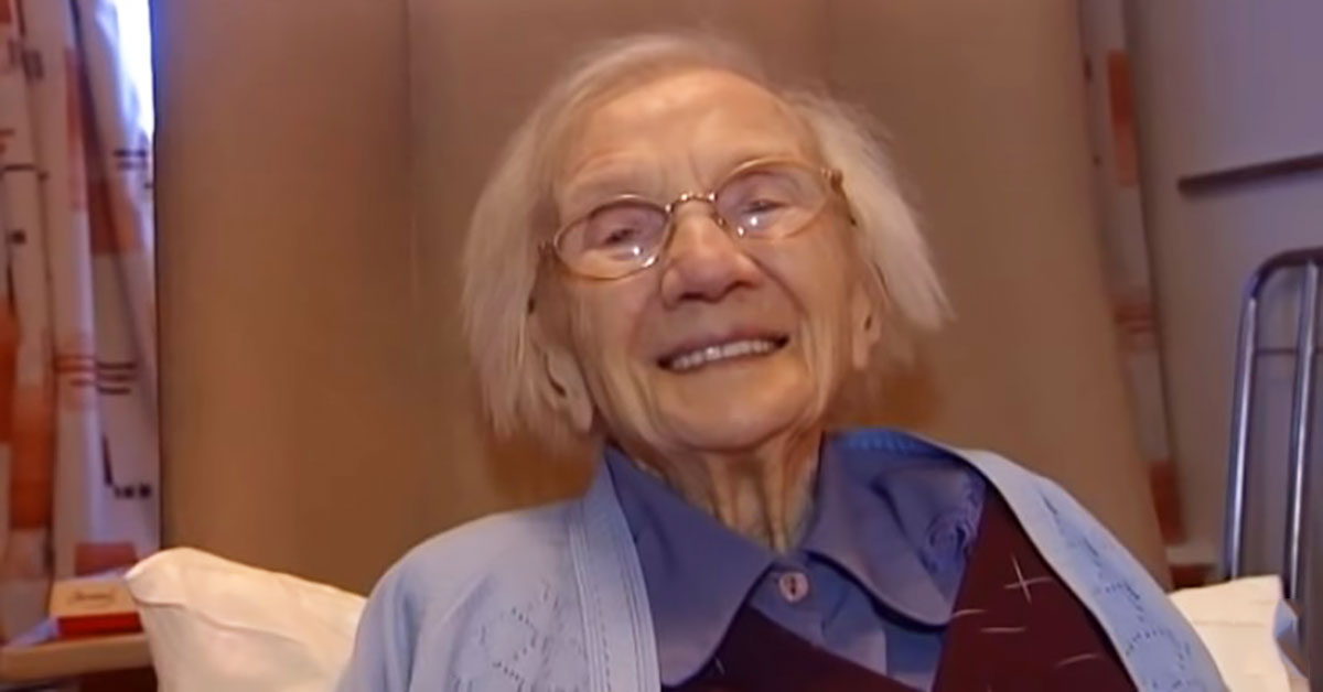 A 109-Year-Old Woman Shares Her Secret for Longevity and It Is Hilarious