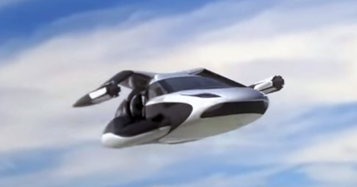 For the First Time in History Flying Car Is On Sale Next Month