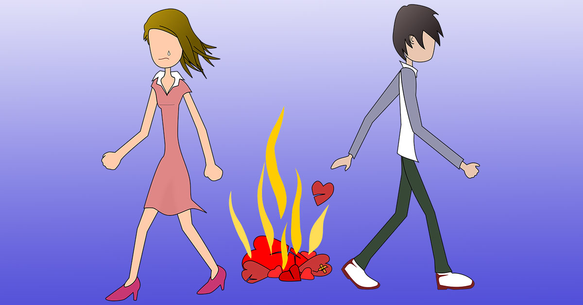5 Signs That Our Partner Is Not Our Soulmate