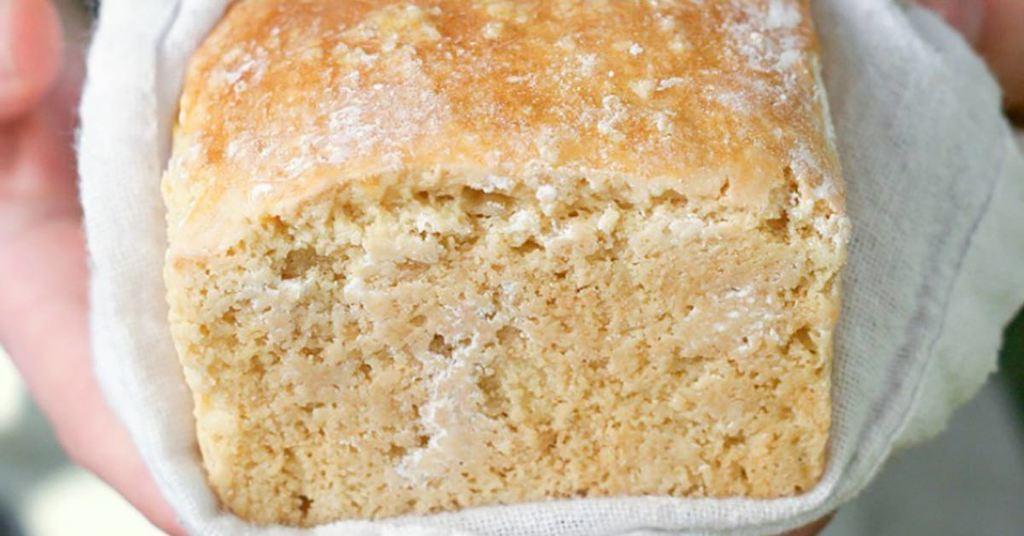 """Delicious Grain Free Cashew """"Sourdough"""" Bread Recipe"""